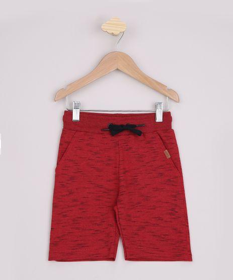 Bermuda-de-Moletom-Infantil-Vermelha-9968434-Vermelho_1