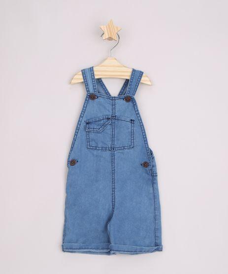 Jardineira-Jeans-Infantil-com-Bolsos-Azul-Medio-9963232-Azul_Medio_1