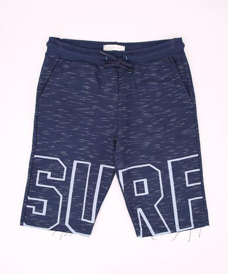 Bermuda-de-Moletom-Juvenil--Surf--com-Bolsos-Azul-Marinho-9965773-Azul_Marinho_1