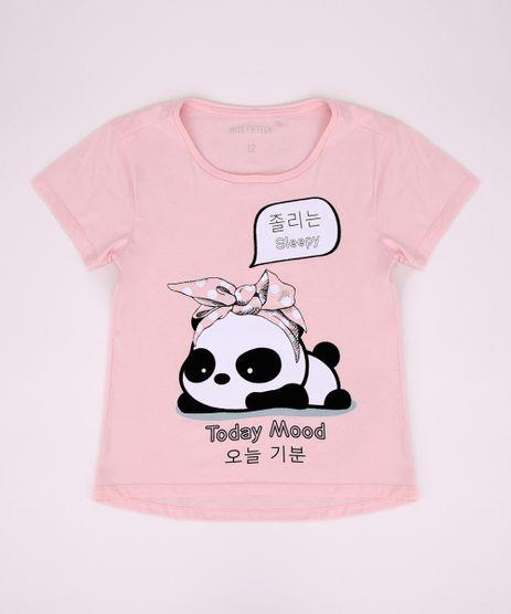 Blusa-Juvenil-Panda--Today-Mood--Manga-Curta-Azul-Claro-9967690-Azul_Claro_1