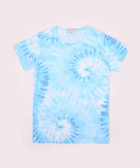 Blusa-Juvenil-Estampada-Tie-Dye-Espiral-Manga-Curta-Azul-9964912-Azul_1