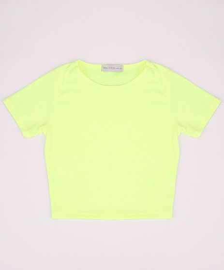 Blusa-Juvenil-Basica-Canelada-Manga-Curta-Amarelo-Neon-9966099-Amarelo_Neon_1