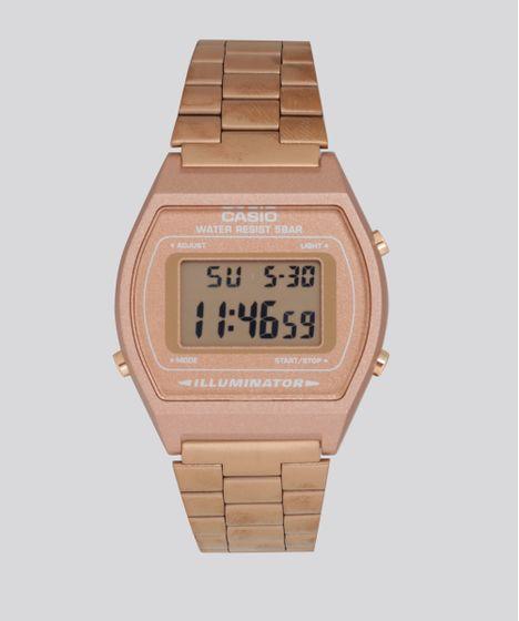 c771ab17cd4 Relogio-Digital-Casio-Feminino---B640WC5ADF-Rose-8687960- ...