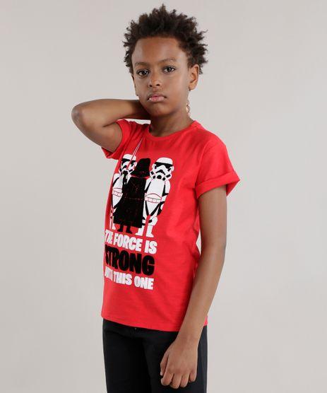Camiseta-Star-Wars-Vermelha-8490380-Vermelho_1