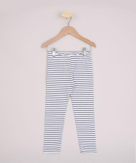 Calca-Legging-Infantil-Basica-Estampada-Listrada-Cos-com-Elastico-Off-White-9944190-Off_White_1