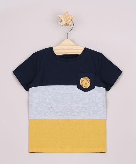 Camiseta-Infantil-com-Recortes-e-Bolso-Manga-Curta-Azul-Marinho-9962997-Azul_Marinho_1