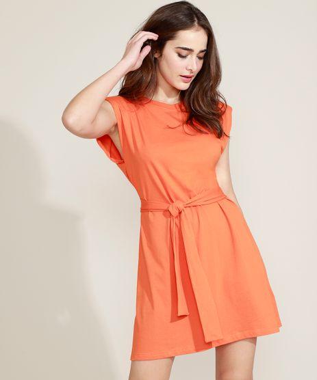 Vestido-Muscle-Dress-Feminino-Mindset-Curto-com-Ombreiras-e-Faixa-para-Amarrar-Sem-Manga-Laranja-9949425-Laranja_1