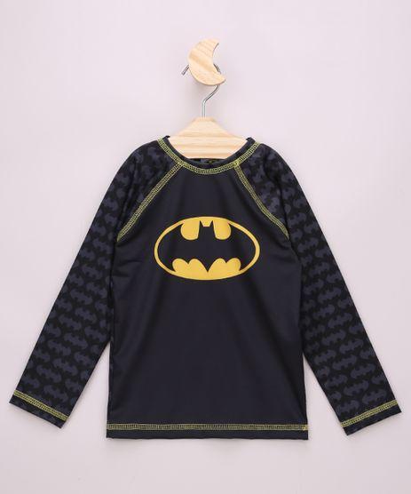 Camiseta-de-Praia-Infantil-Raglan-Batman-Manga-Longa-com-Protecao-UV50--Preto-9959657-Preto_1