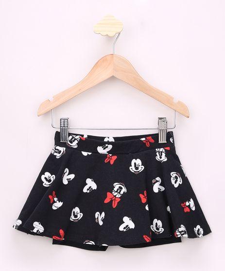 Short-Saia-Infantil-Mickey-e-Minnie-Estampado-Preto-9967237-Preto_1