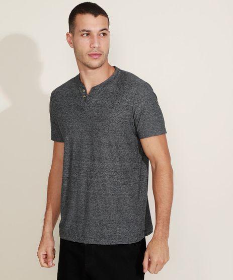 Camiseta-Masculina-Basica-Manga-Curta-Gola-Portuguesa-Cinza-mescla-escuro-9965420-Cinza_Mescla_Escuro_1