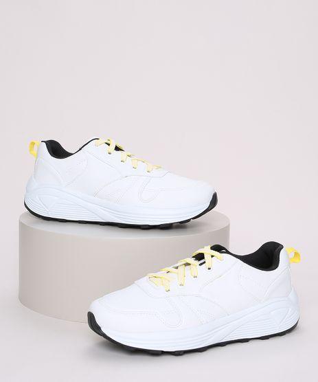 Tenis-Feminino-Oneself-Chunky-com-Recortes-Branco-9971237-Branco_1