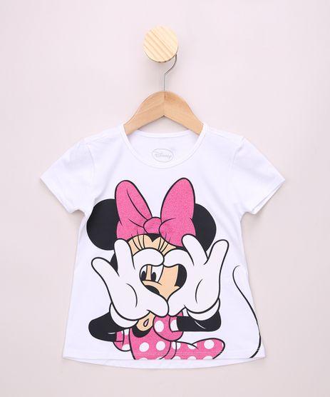 Blusa-Infantil-Ampla-Minnie-com-Glitter-Manga-Curta-Branca-9968361-Branco_1