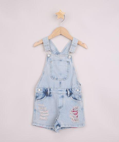 Jardineira-Jeans-Infantil-Destroyed-com-Bolsos-Azul-Claro-9957878-Azul_Claro_1