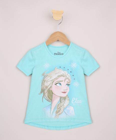 Blusa-Infantil-Ampla-Elsa-Frozen-com-Strass-Manga-Curta-Verde-Agua-9954818-Verde_Agua_1