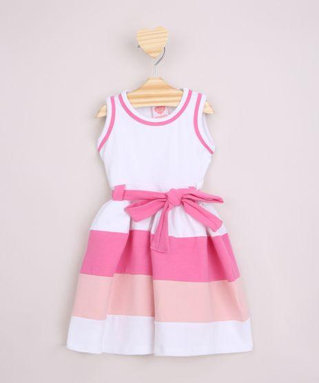 Vestido-Infantil-com-Recortes-e-Faixa-para-Laco-Alcas-Medias-Off-White-9965637-Off_White_1