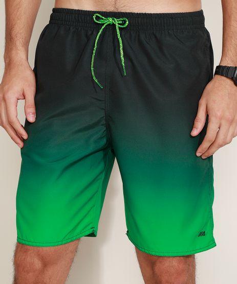 Bermuda-Masculina-Esportiva-Ace-Estampada-Degrade-com-Cordao-Verde-9947725-Verde_1