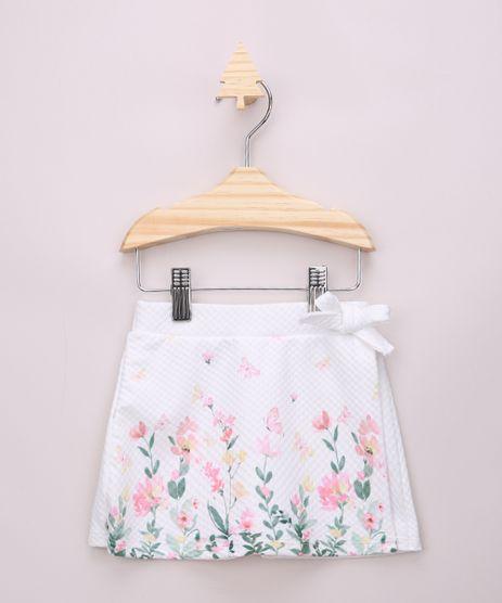 Short-Saia-Infantil-Transpassado-Texturizado-com-Estampa-Floral-e-Laco-Off-White-9967898-Off_White_1