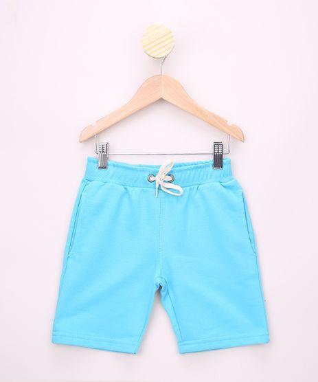 Bermuda-de-Moletom-Infantil-Basica-Azul-Claro-9651240-Azul_Claro_1