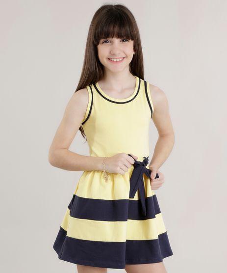 Vestido-com-Laco-Amarelo-8708207-Amarelo_1