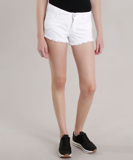 Short-Relaxed-Destroyed-Branco-8725898-Branco_1