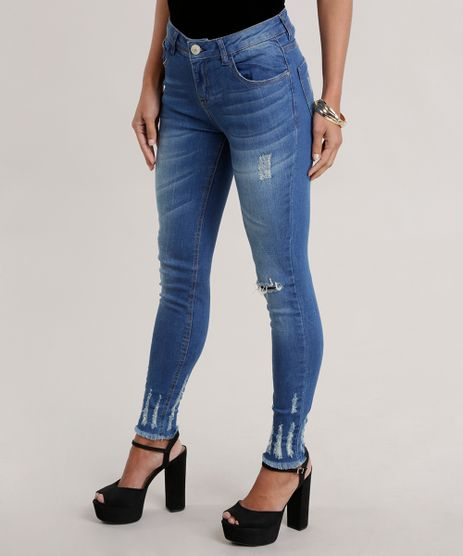 Calca-Jeans-Cigarrete-Destroyed-Azul-Medio-8722711-Azul_Medio_1