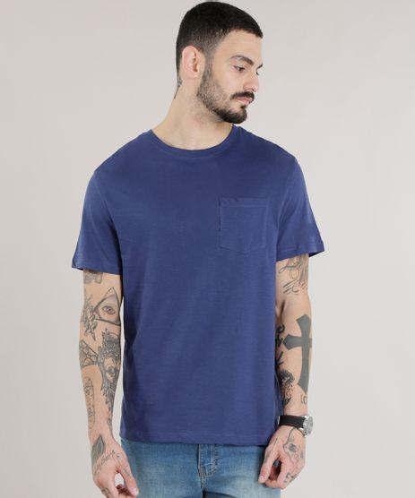 Camiseta-Basica-em-Algodao---Sustentavel-Azul-Marinho-8618283-Azul_Marinho_1
