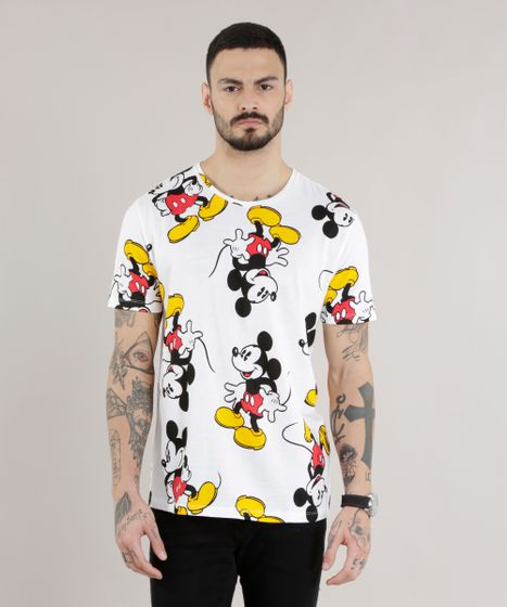 1814475e1 Camiseta-Estampada-Mickey-Off-White-8659448-Off White 1 ...