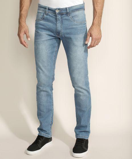 Calca-Jeans-Masculina-Reta-com-Bolsos-Azul-Claro-9962223-Azul_Claro_1
