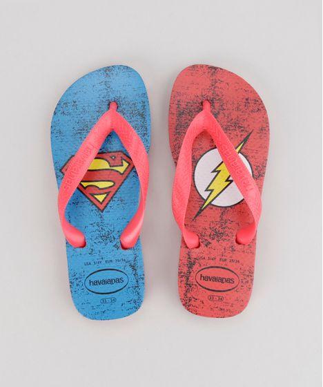 ac45fabb400de Chinelo-Havaianas-Super-Homem-e-Flash-Vermelho-8723575- ...
