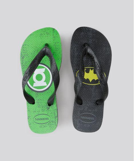 f9b3942c31c94 Chinelo-Havaianas-Lanterna-Verde-e-Batman-Preto-8723567- ...