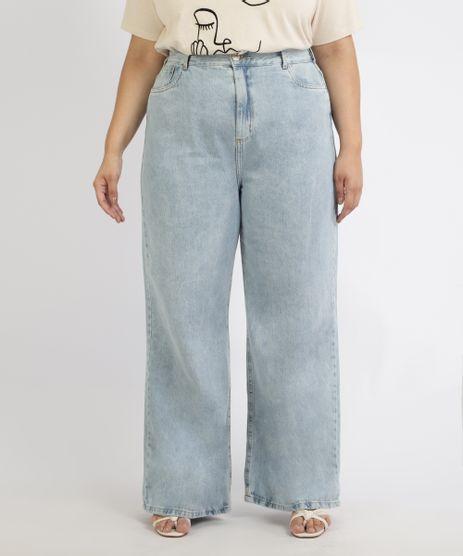 Calca-Jeans-Feminina-Mindset-Plus-Size-Wide-Reta-Cintura-Super-Alta-Azul-Claro-9967300-Azul_Claro_1