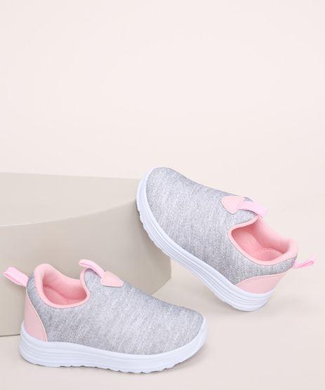 Tenis-Knit-Infantil-Calce-Facil-Cinza-Mescla-9971435-Cinza_Mescla_1