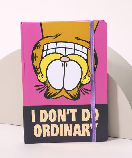 Caderno-Garfield--I-Don-t-Do-Ordinary--com-Pauta-205-cm-x-14-cm-Rosa-9965910-Rosa_1