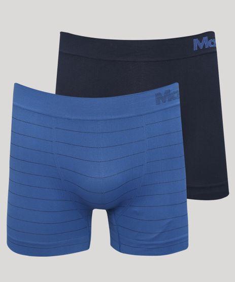 Kit-de-2-Cuecas-Masculinas-Mash-Boxer-Sem-Costura-Azul-9969553-Azul_1