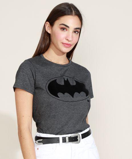Blusa-Feminina-Batman-Manga-Curta-Decote-Redondo-Chumbo-9968013-Chumbo_1