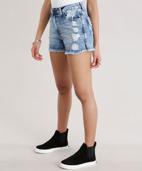 Short-Jeans-Vintage-Destroyed-Azul-Medio-8711228-Azul_Medio_1
