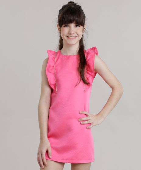 Vestido-com-Babado-Pink-8659749-Pink_1