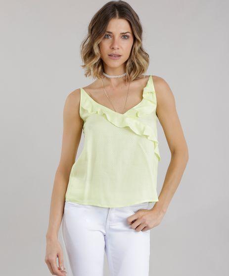 Regata-com-Babados-Amarelo-Neon-8701464-Amarelo_Neon_1