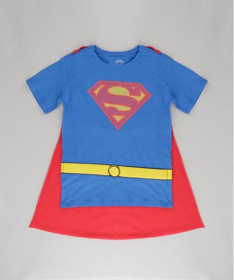 0c93d42a0 Camiseta-Super-Homem-com-Capa-Azul-8724513-Azul 1 ...