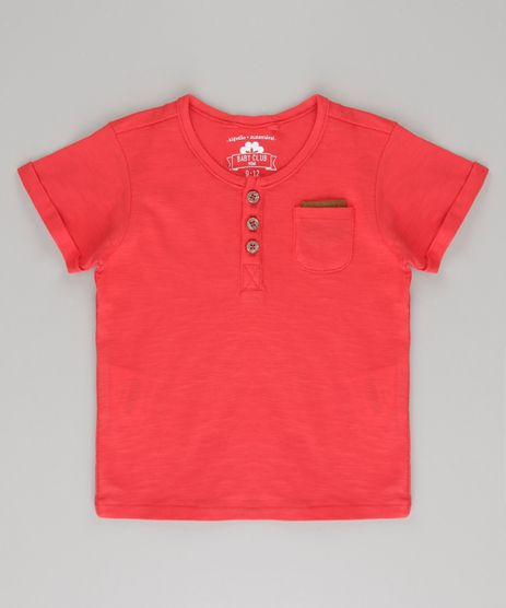 Camiseta-com-Bolso-em-Algodao---Sustentavel-Vermelha-8592191-Vermelho_1