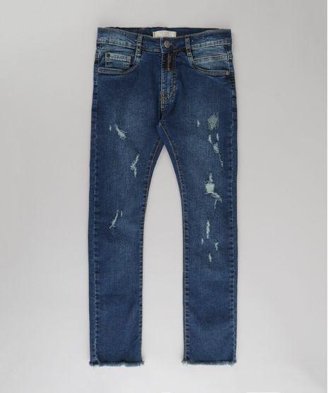 Calca-Jeans-Skinny-Destroyed-Azul-Escuro-8724083-Azul_Escuro_1