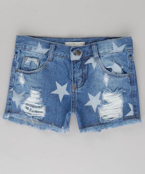 Short-Jeans-Destroyed-Estampado-de-Estrelas-Azul-Medio-8733164-Azul_Medio_1