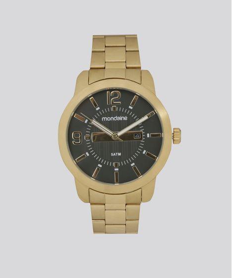 906b0ebf800 Relógio Analógico Mondaine Masculino - 78673GPMVDA2 Dourado - cea