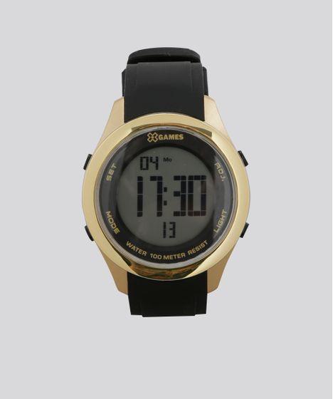 578402fa2a6 Relógio Digital X-Games Feminino - XMPPD389 BXPX Dourado - cea