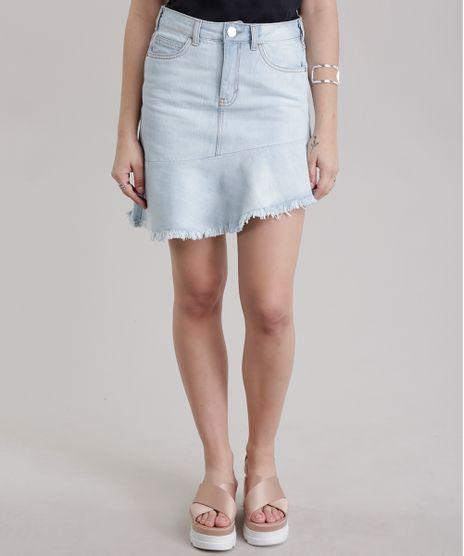 46be2955dd Saia-Jeans-Assimetrica-com-Recorte-Azul-Claro-8710814-