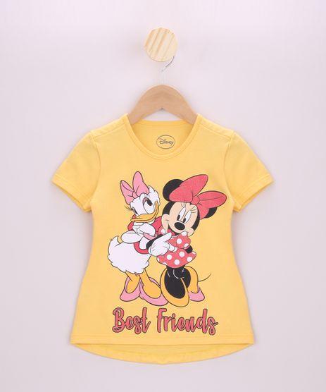 Blusa-Infantil-Minnie-e-Margarida-Manga-Curta-Amarela-9954817-Amarelo_1