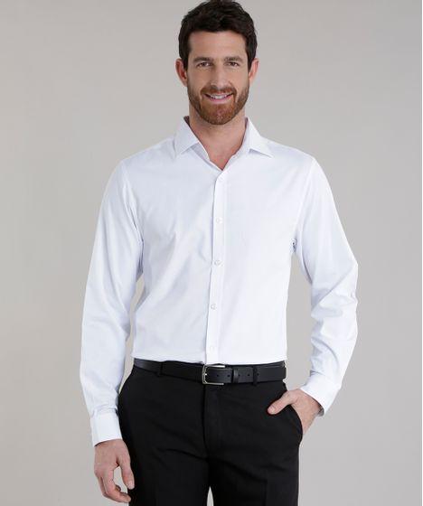 561aa68c6bab5 cea · Moda Masculina · Camisas. Camisa-Slim-Branca-8414125-Branco 1 ...