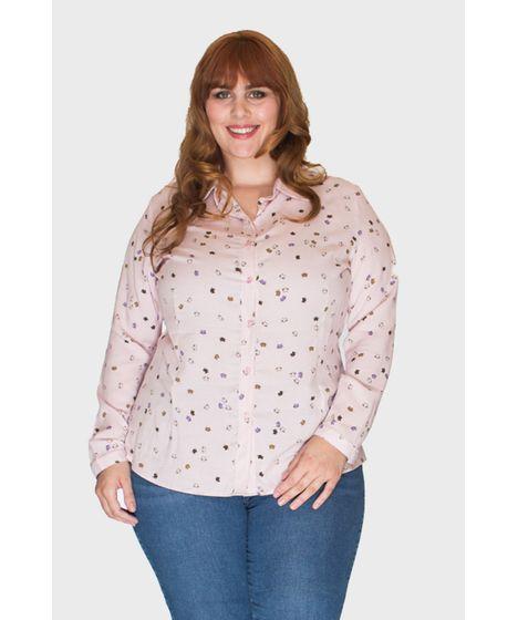 09c4abe753 Camisa Gatos Plus Size - cea