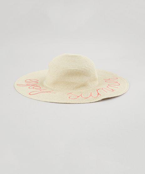 Chapeu-de-Praia-com-Bordado--Enjoy-Summer--Bege-Claro-8681399-Bege_Claro_1