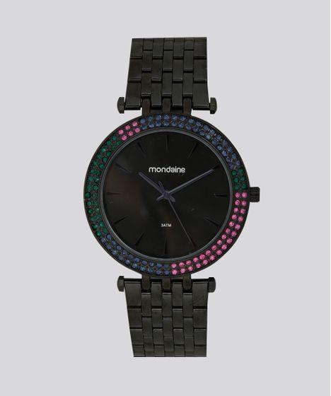 a39a6da910e Relógio Analógico Mondaine Feminino - 99095LPMVPE2 Preto - cea